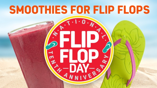 Flip Flops and Smoothies for a Cause